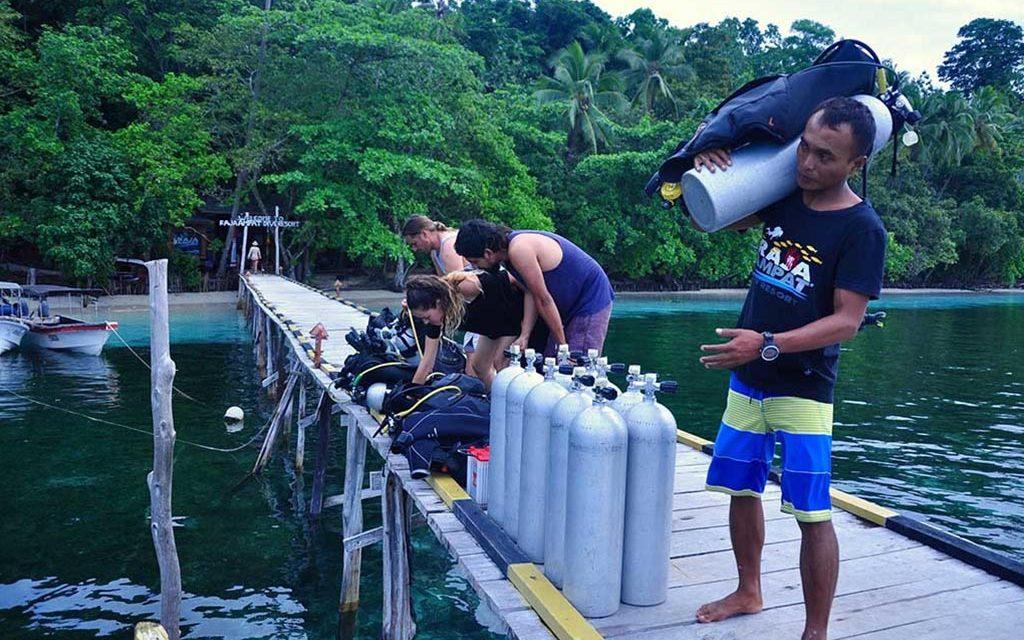 Raja Ampat Dive Resort Tauchbasis