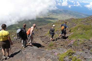 Mt. Pico climb group