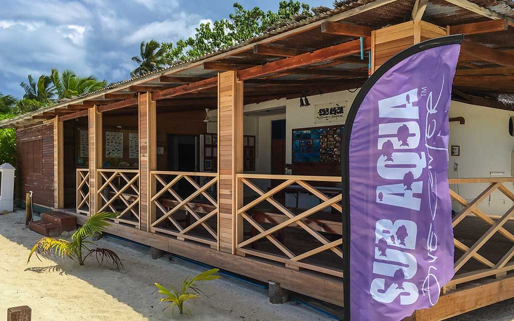 Sub Aqua Dive Center – Angaga