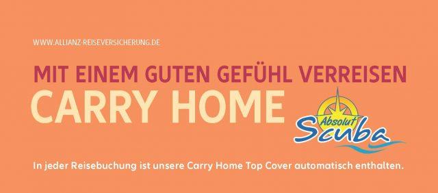 Carry Home - Covid Versicherung